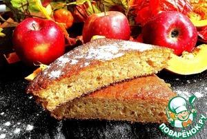 Рецепт Яблочно-тыквенный пирог