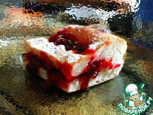 Рецепт Дрожжевой пирог с брусникой