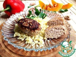 Рецепт Котлеты мясные с тыквой