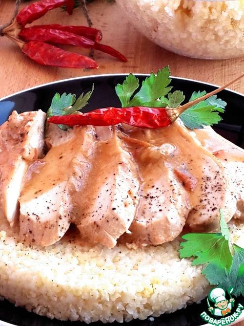 тушеное куриное филе рецепты с фото