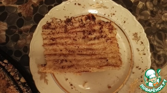 Торт на сковороде на поваренок