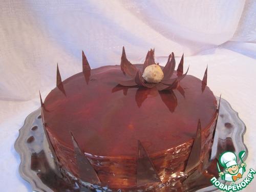 "Торт ""Одинокий цветок"""
