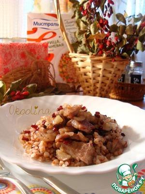 Рецепт Жареное мясо с барбарисом и гранатовым сиропом
