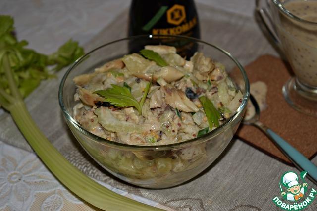 рыба с сельдереем в духовке рецепт