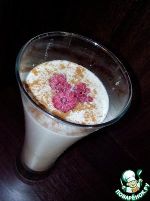 Рецепт Коктейль и завтрак из овсяных хлопьев