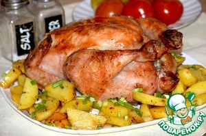 Рецепт Курица для воскресного обеда