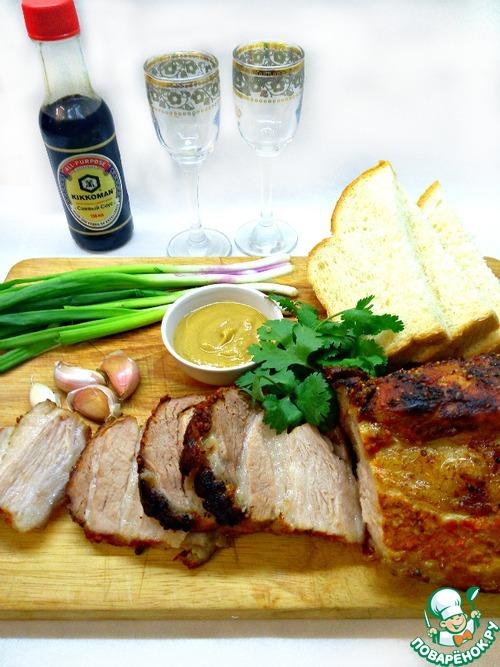 Вторые блюда из свинины с картошкой в духовке рецепты с фото