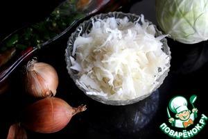 Рецепт Квашеная капуста без моркови