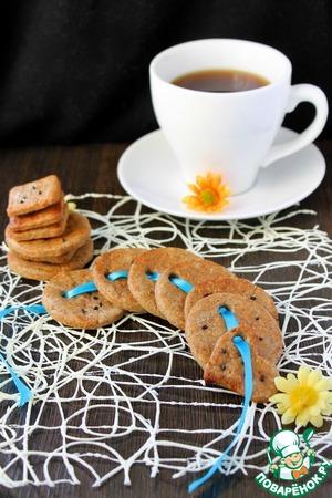 Пикантное печенье простой рецепт с фото