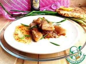 Рецепт Имбирная рыба в остро-пряном соусе