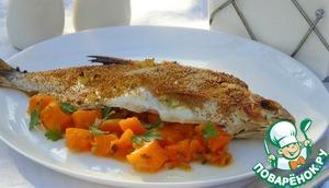 Рецепт Рыба с тыквой