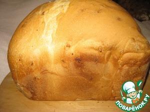 Рецепт Белый хлеб с чесноком