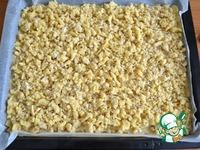 Песочный пирог со сметанной помадкой ингредиенты