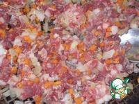 Пирожки с рубленым мясом и овощами ингредиенты
