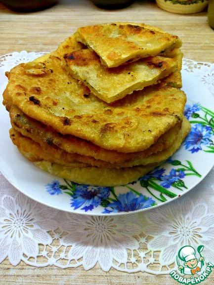 Лепёшки с плавленным сыром рецепты