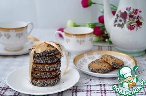 Рецепт Гречневое печенье с маком