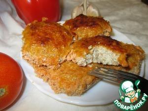 Рецепт Гречневые тефтели с творогом в сметанно-сырной заливке