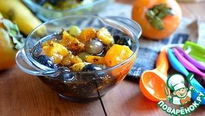 Рецепт Десерт с фруктами и семенами чиа