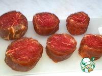 Стейк из говядины по-шаляпински с ризотто ингредиенты