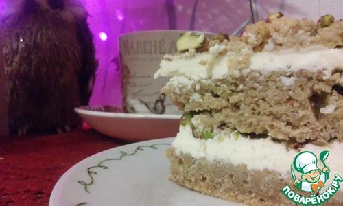 Как приготовить Тыквенный торт с ромовым кремом домашний пошаговый рецепт с фотографиями #16