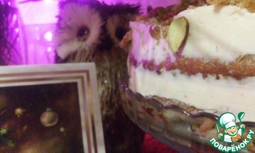 Как приготовить Тыквенный торт с ромовым кремом домашний пошаговый рецепт с фотографиями #13