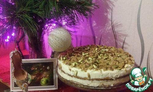 Как приготовить Тыквенный торт с ромовым кремом домашний пошаговый рецепт с фотографиями #14