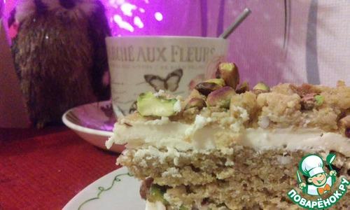 Как приготовить Тыквенный торт с ромовым кремом домашний пошаговый рецепт с фотографиями #17
