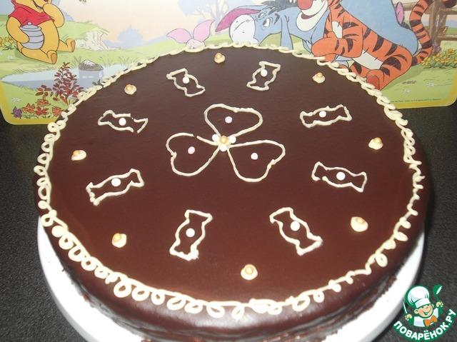 """Торт """"Птичье молоко"""" вкусный пошаговый рецепт приготовления с фото #14"""