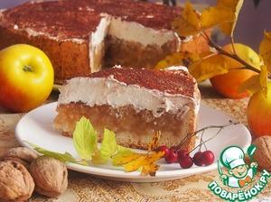 Рецепт Богатый яблочный пирог с сидром