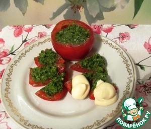 Рецепт Помидоры с петрушкой и чесноком по-провансальски