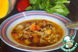Рецепт Чили кон карне с тыквой