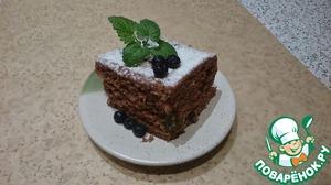 Рецепт Коврижка постная в микроволновке