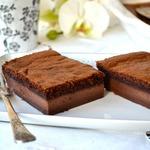 Волшебный шоколадный десерт