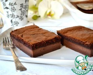 Рецепт Волшебный шоколадный десерт