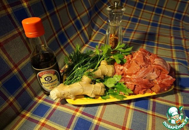 салат из говядины с соевым соусом рецепт