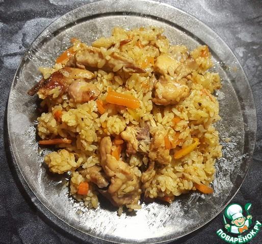плов из курицы рецепт приготовления с фото пошагово простой рецепт