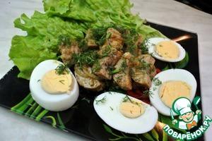Рецепт Бычьи яйца