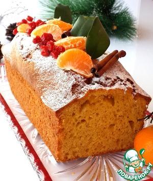 Рецепт Морковно-мандариновый кекс