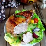 Голень индейки с ароматом барбекю-маринада