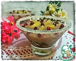 Рецепт Граните из ананаса с гранатом