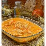 Курица в томатно-сметанной подливе
