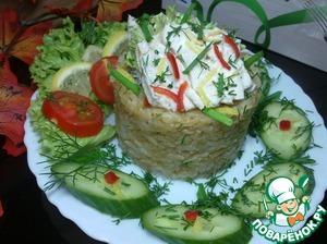 Рецепт Отварная скумбрия с рисом жасмин