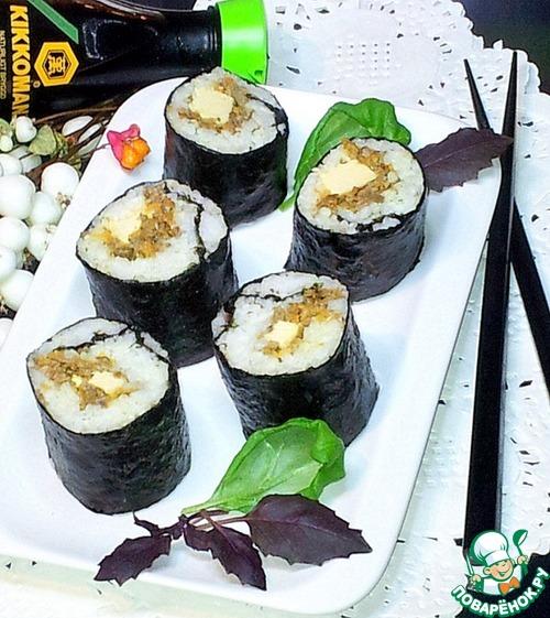 Суши с курицей рецепт