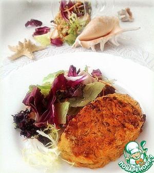 Рецепт Горбуша в морковно-томатном кляре
