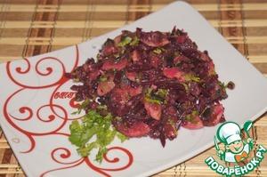 Рецепт Салат из свеклы с грибами