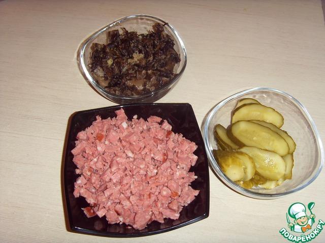 Начинка для пирогов из соленых огурцов рецепты
