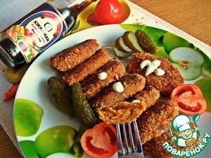 Рецепт Чечевичные котлетки с овощами