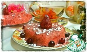 Рецепт Клубничный воздушный десерт