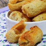 Быстрый и вкусный хлебный десерт