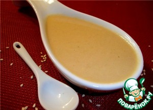 Рецепт Тахина (тхина, тахини) паста из кунжута
